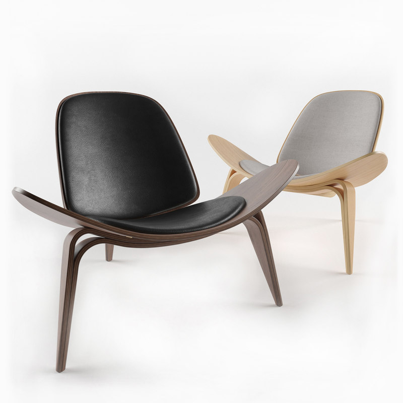 shell chair ch07 hans wegner model