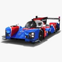 smp racing br engineering 3D model