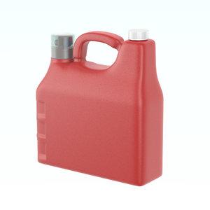detergent plastic bottle 3D