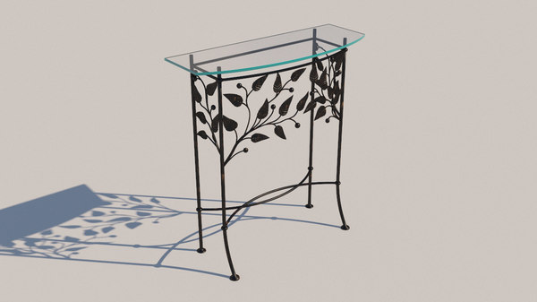 3D forged furniture