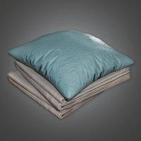 Blanket Set 01 (HPL) - PBR Game Ready