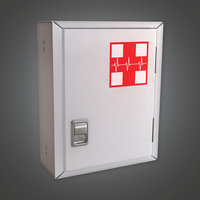 Medical Box 01 (HPL) - PBR Game Ready