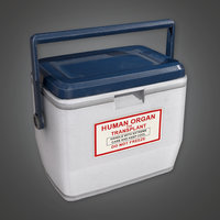 Medical Transplant Cooler (HPL) - PBR Game Ready