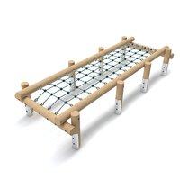 wooden playground net 3D model