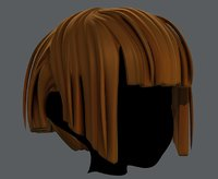 3D hair style girl v31