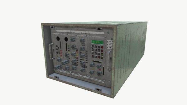 3D model radio unit 1