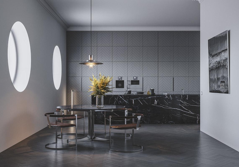 fabricius kitchen scene 3D model
