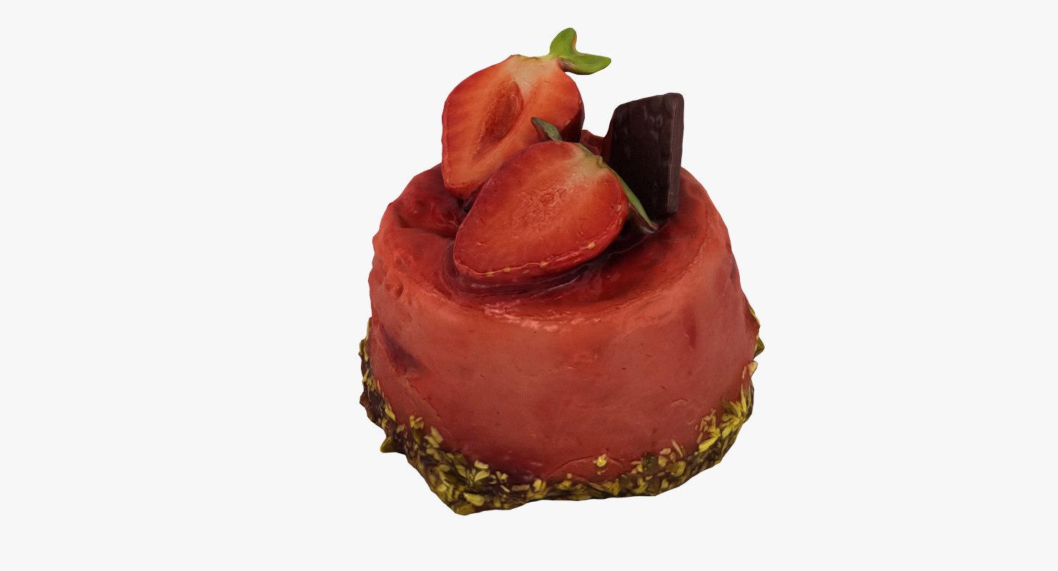 cake realistic 3D model