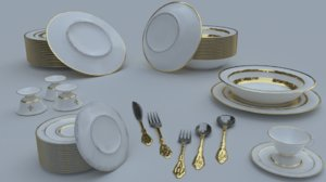 3D tableware wear