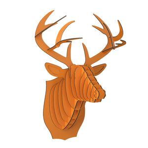 cardboardsafari bucky cardboard deer 3D model