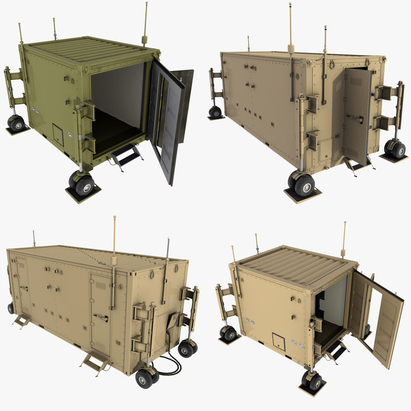 3D uav containers