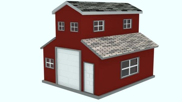 house blender 3D