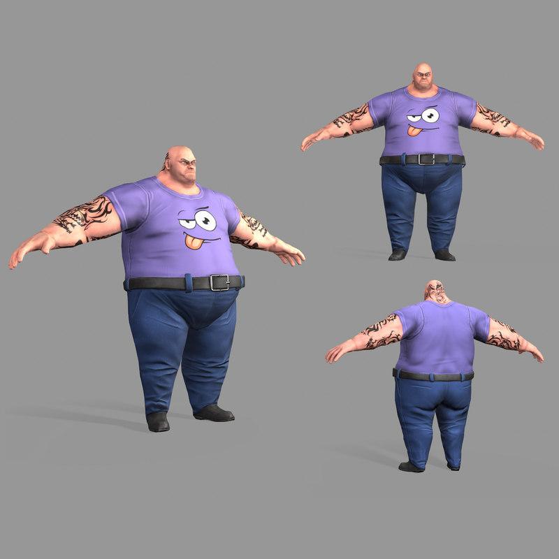 3D fat
