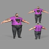 fat thug 3D