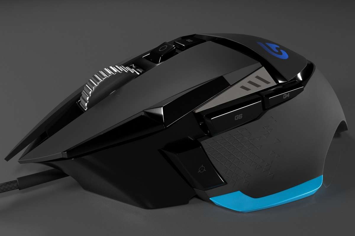 gaming logitech g502 proteus model
