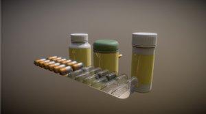 medicines 3D model