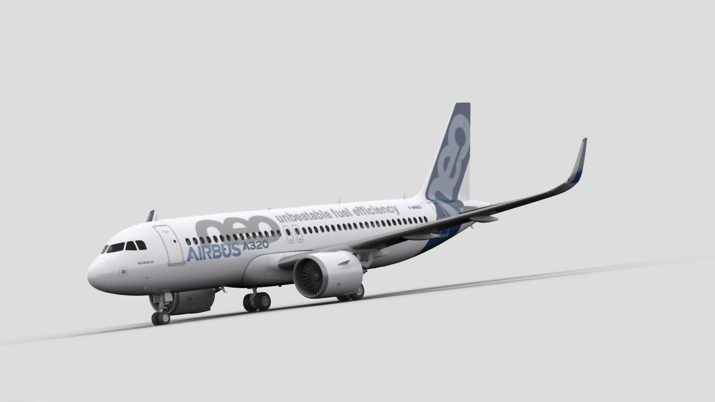 airbus a320neo 3D