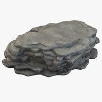 3D model cliff