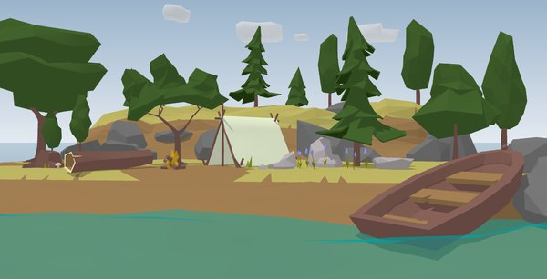 3D trees sketchup