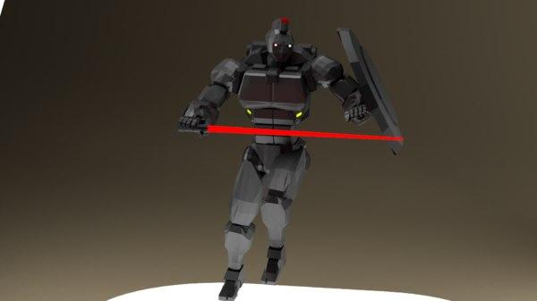 spartan unit-01 sator mechs 3D model