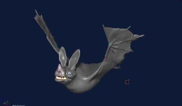 vampire bat 3D