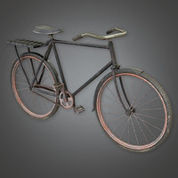 Old Bike (TLS) - PBR Game Ready