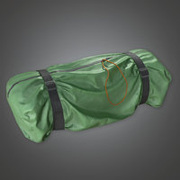 Tent Bag (TLS) - PBR Game Ready