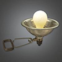 Clamp Light (TLS) - PBR Game Ready