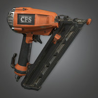 Nail Gun 01 (TLS) - PBR Game Ready
