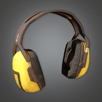 Ear Protectors (TLS) - PBR Game Ready