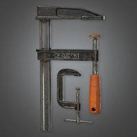 Clamp Tool (TLS) - PBR Game Ready