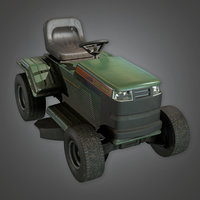 Riding Lawnmower (TLS) - PBR Game Ready
