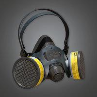 Respirator (TLS) - PBR Game Ready