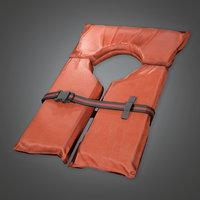 Life Vest (TLS) - PBR Game Ready