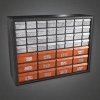 Toolshelf 01 (TLS) - PBR Game Ready
