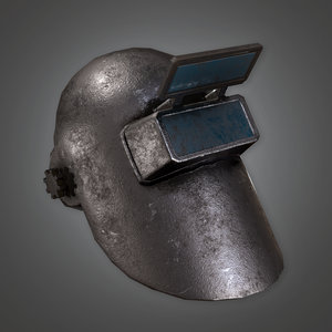 3D ready pbr - metalness model