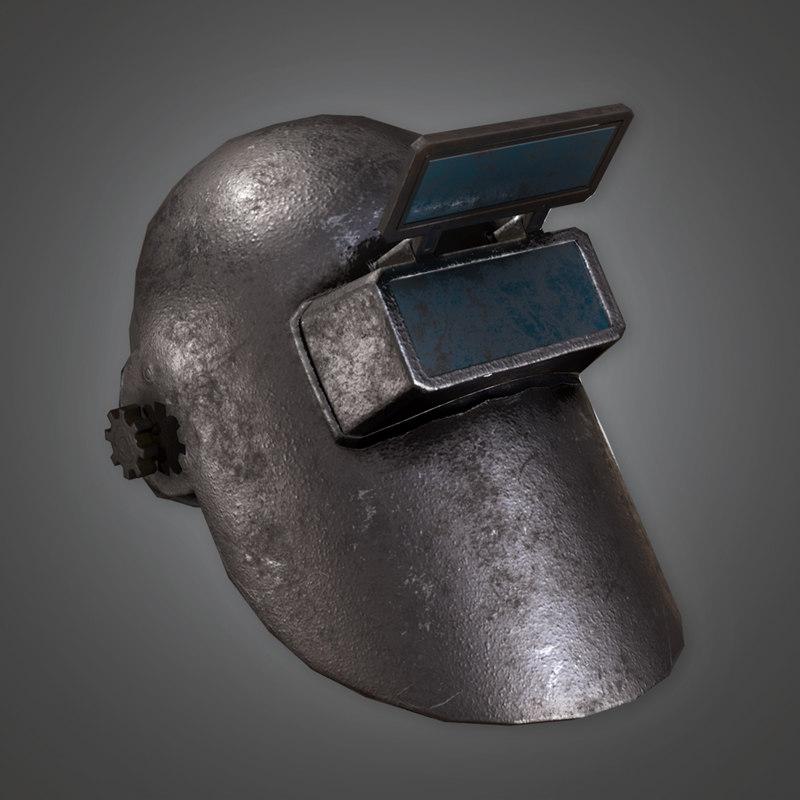 3D ready pbr - metalness model