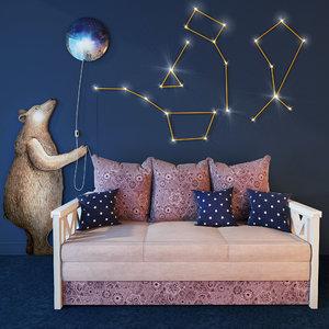 3D sofa provence
