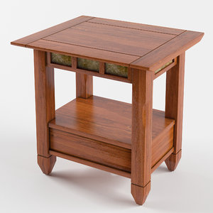 atkinson end table 3D model