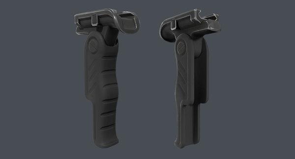 3D pbr ar forearm folding model