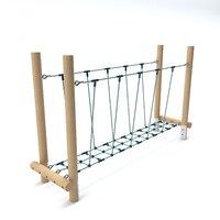 Wooden Playground Barrier