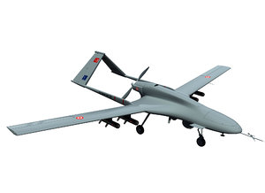 unmanned uav bayraktar model