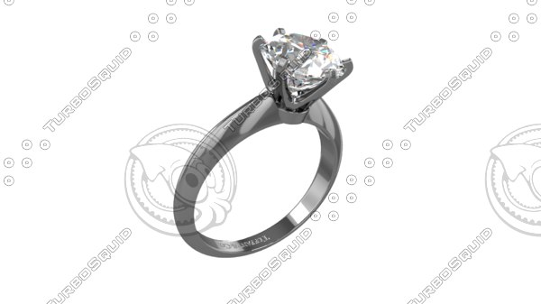tiffany ring 3D