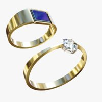 3D lightwave ring model