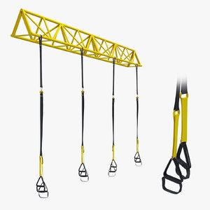 3D trx gym sport equipment