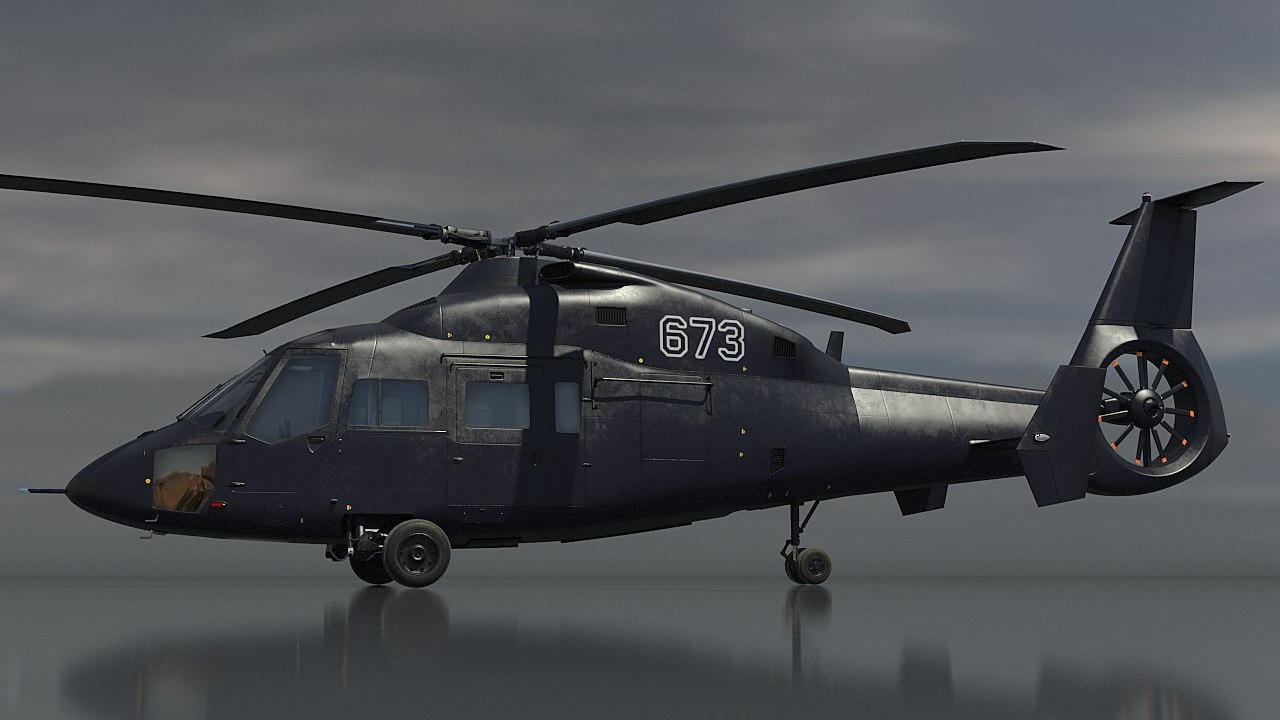 ka-60 helicopter kasatka 3D model