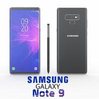 3D samsung galaxy note 9