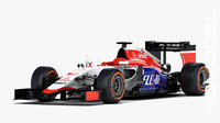 manor marussia mr03 2015 3D