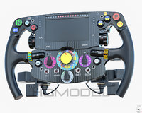 F1 2015 Steer Wheel Formula Car Generic