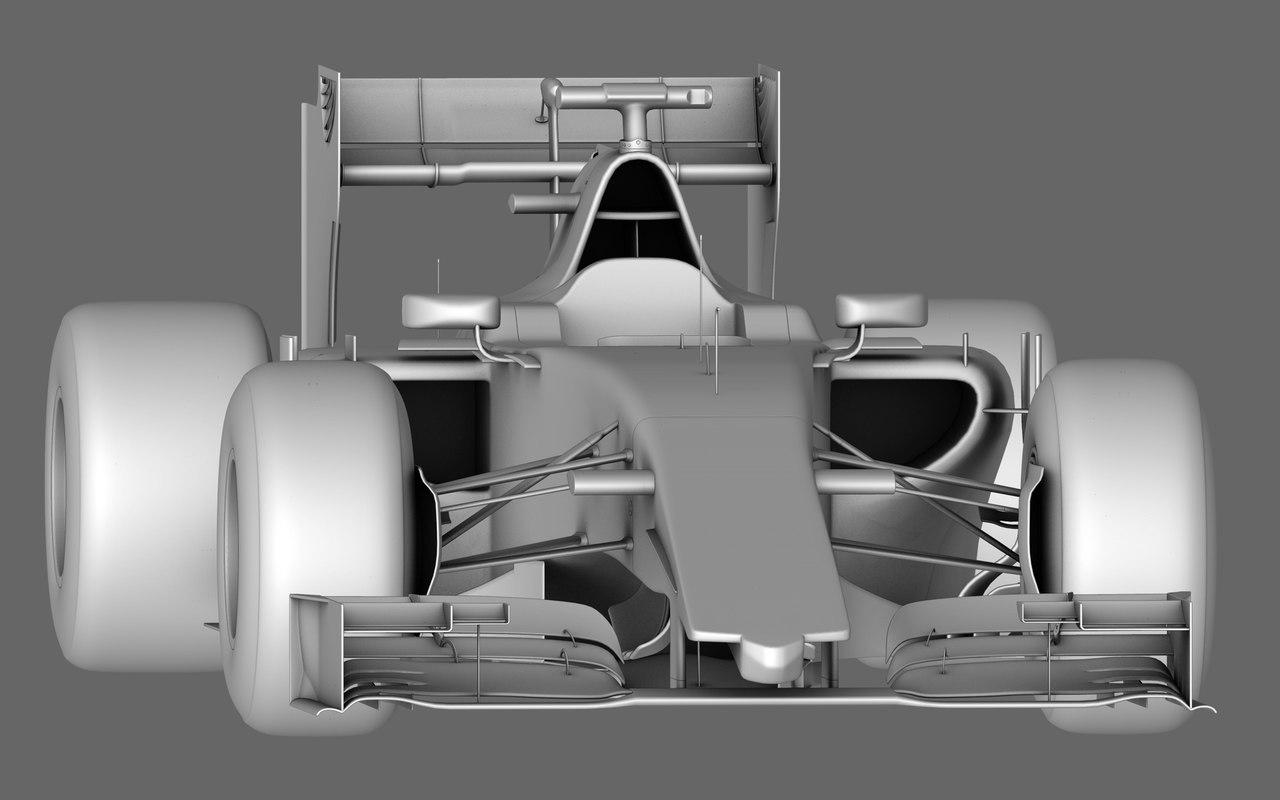 manor marussia mr03 season model